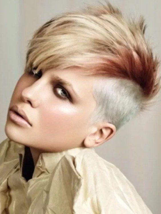 Agyness Deyn's Short Hairstyle 2018