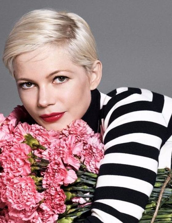 Michelle Williams Short Haircut for 2018