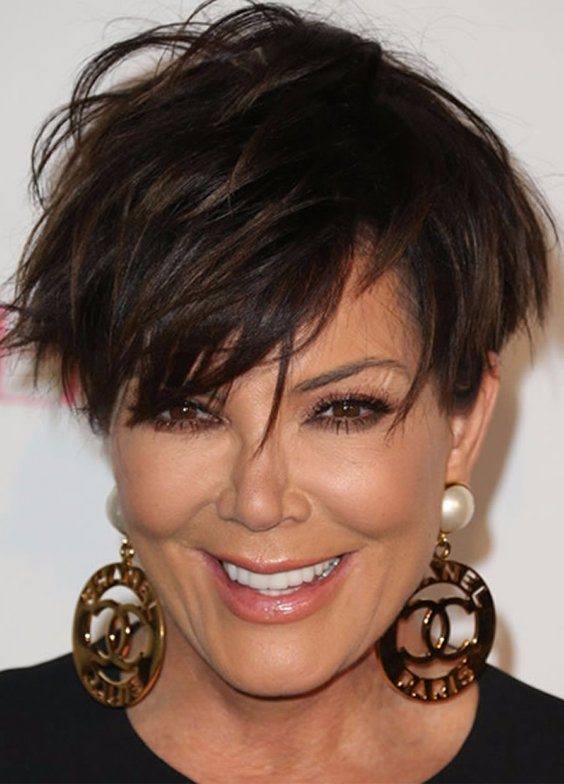 Short Messy Pixie Hair for Women Over 50