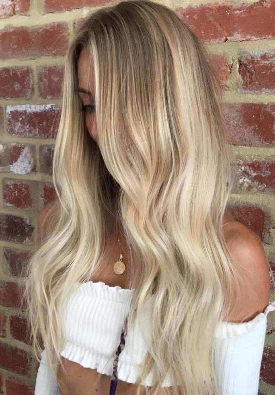 Nude Beige Hair Color Ideas 2018