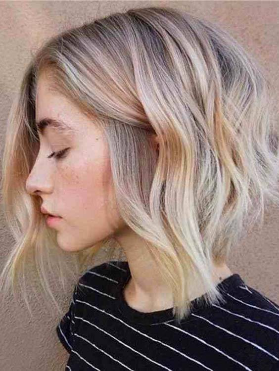 A-Line Bob Haircuts for Women 2018