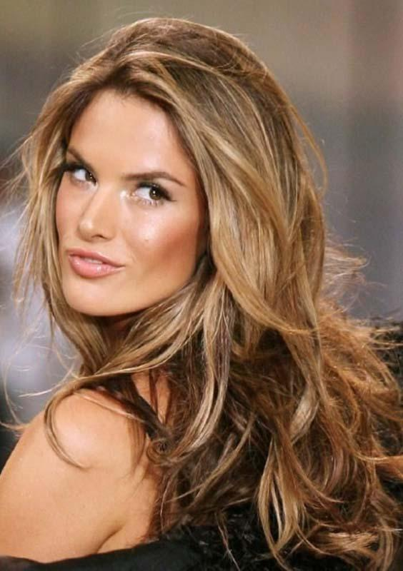 Alessandra Ambrosios Ombre Hairstyles for 2018