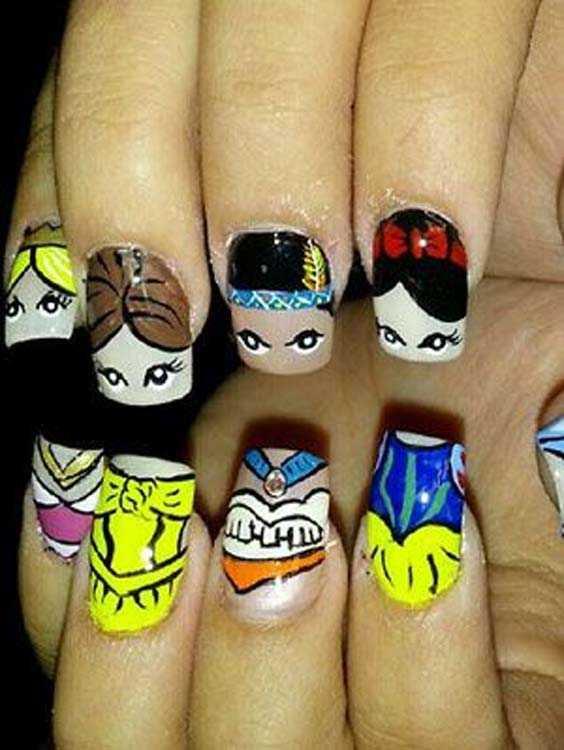 Best Disney Nail Art Designs for Women