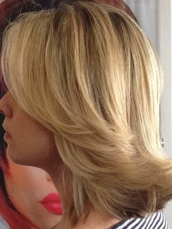 trending shoulder length hairstyles