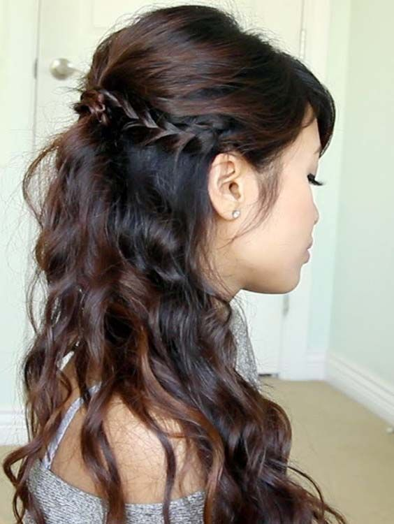 Gorgeous Half Updos for Long Hair Styles
