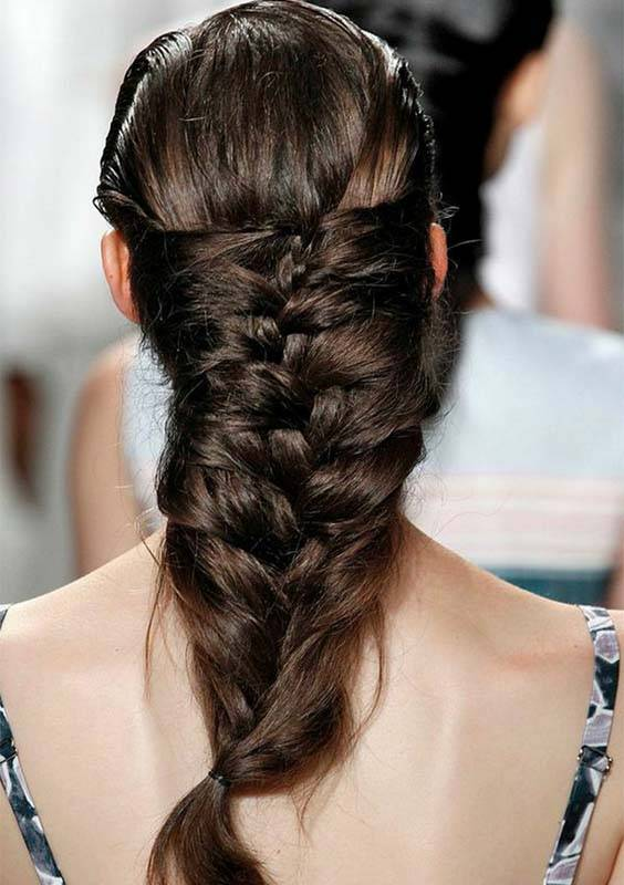 Summer Herringbone Braids 2018