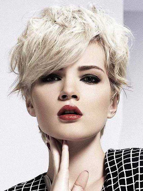Short Blonde Haircut Ideas 2018