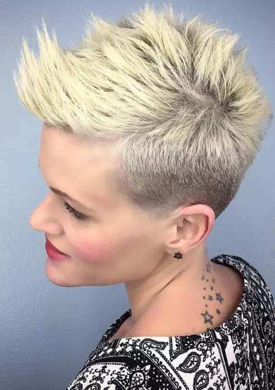 Short Spiky Pixie Hairstyles 2018