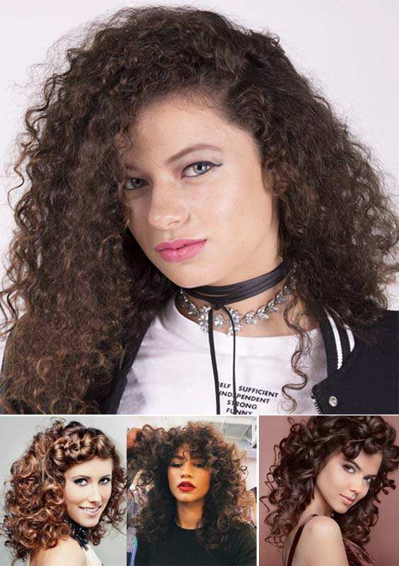 Voluminous Bouncy Curls for Women