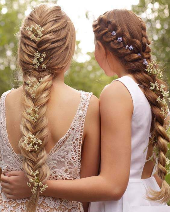 Wedding Hairstyles and Haircuts 2018