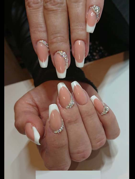 Amazing French Nail Art Designs for Classy Manicure in 2018 | Stylezco