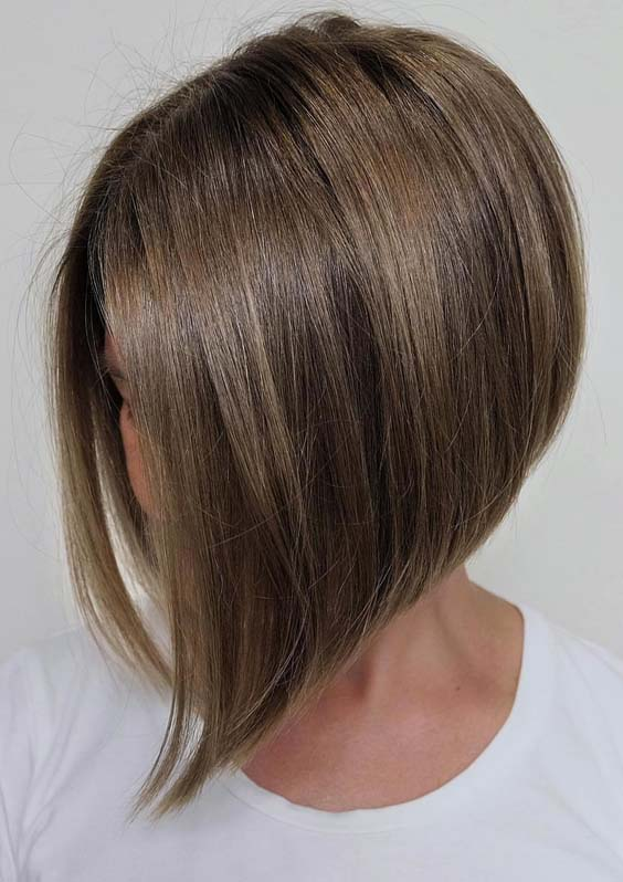 Angled Bob Haircut Styles in 2018