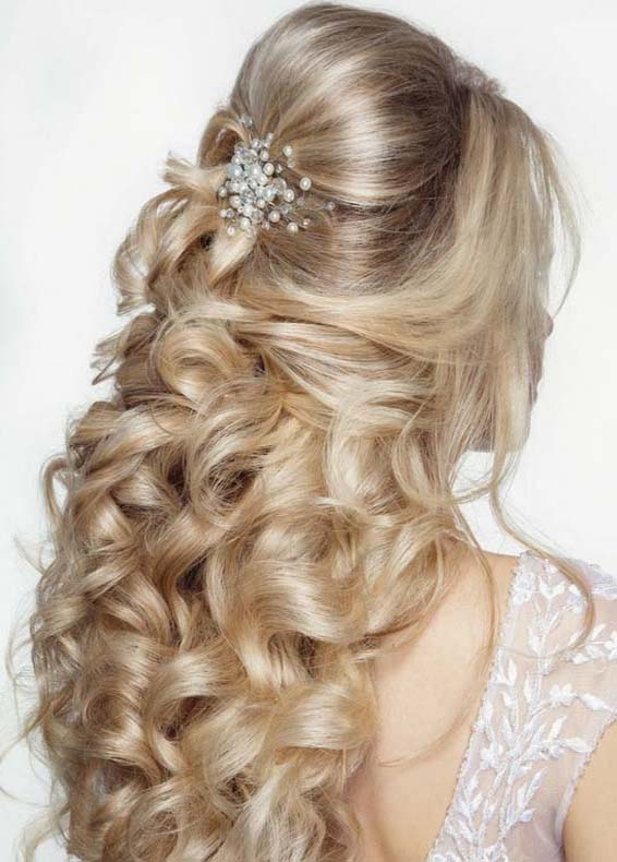 Bridal Wedding Hairstyles for 2018