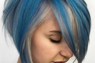 Gorgeous Blue Bob Haircuts in 2018