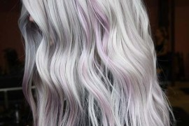 Gorgeous Platinum Hair Color With Shadow Roots