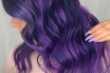 Lovely Ideas Of Purple Hair Color Shades for 2018