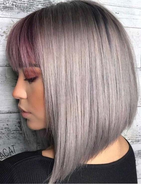 Soft Bob Haircuts for fall autumn 2018
