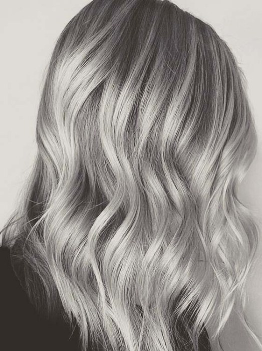 Perfect Ideas Of Stormy Silver Grey Hair Color To Use In ...