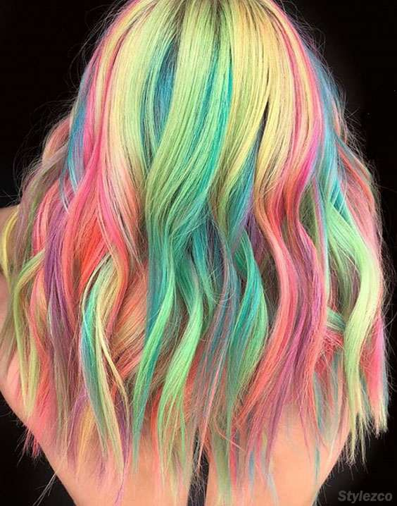 Gorgeous Pulp Riot Hair Color Trends for Teenage Girls In 2018