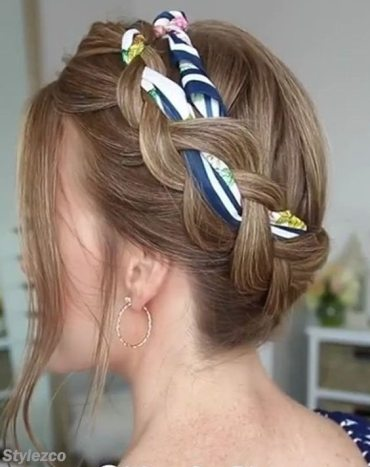 Beautiful Braided Updo Hairstyles for Stylish Girls In 2018