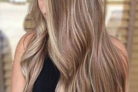 Fascination Sun kissed Hair Color Ideas for Long Hair In 2018