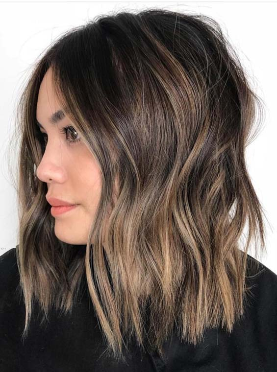Best Brunette Balayage Hair Color Shades to Try in 2018 ...
