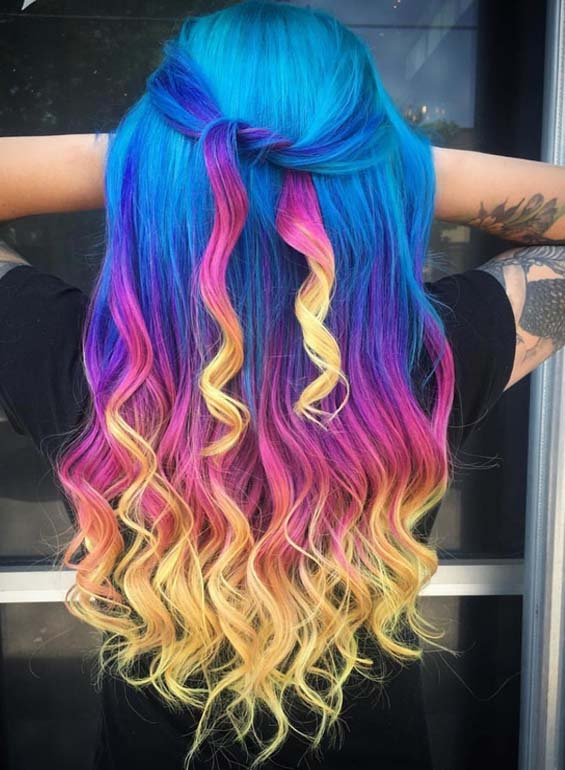 Hottest Pupl Riot Hair Color Shades in 2018