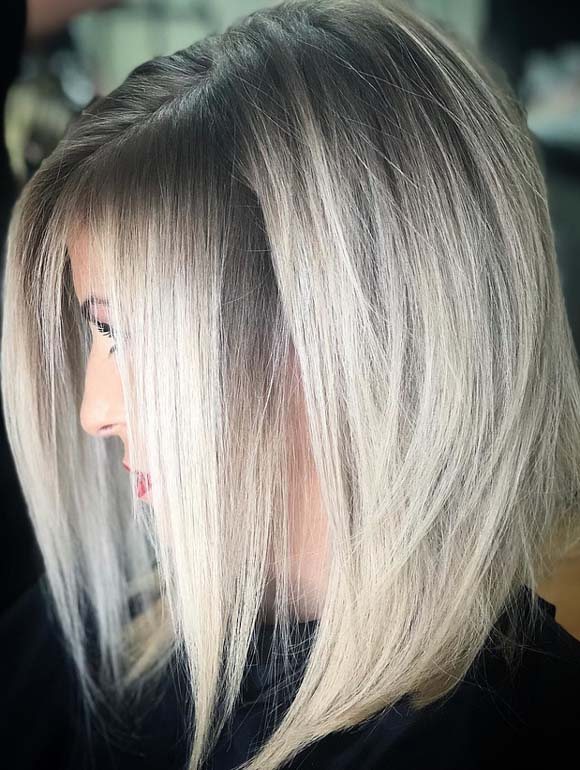 Lovely Ash Blonde Hair Color Blends for 2018