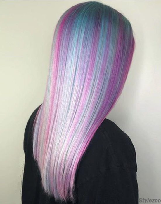 Stylish Ways to Wear Mermaid Purple Hair Color Ideas for 2018