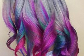 Modern Mermaid Hair Color Ideas in 2018
