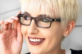 Platinum Piecey Pixie Haircuts for 2018