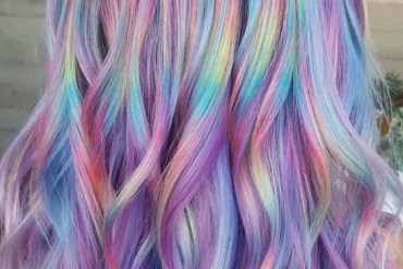 Pretty Shades Of Rainbow Hair Colors in 2018