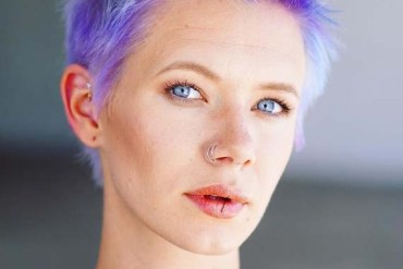 Short Blue Haircuts for Women 2018