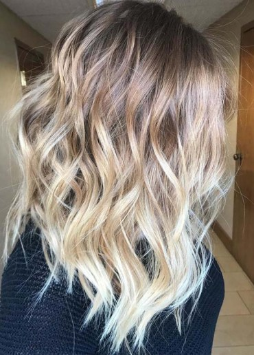 Sun-Kissed Blonde Balayage Hairstyles in 2018
