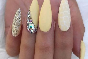 Fabulous Yellow Nail Art Designs & Trends For Queen Girls