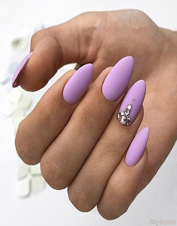 Purple Nail Art Design & Styles for You To Try In 2018 | Stylezco