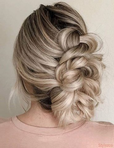 Braided Updo Hairstyles for Beautiful Girls & Women for 2018
