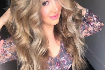 Light Brown Hair Color & Hairstyle For Long Hair In 2018
