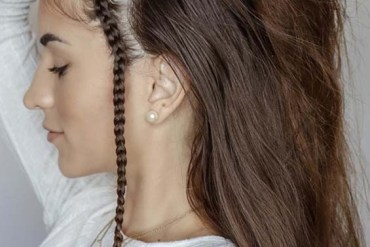 Refection Of Side Braids for Long Hair in 2018