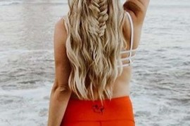Perfect Fishtail Braids For Beach Hairstyles for 2018