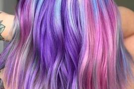 Pretty & Unique Colorful Hair Ideas for Ladies & Girls