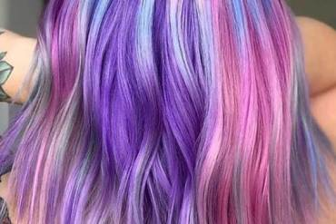 Pretty & Unique Colorful Hair Ideas for Ladies & Girls