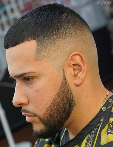 Men's Short Haircut Style with Cute Beard for 2019
