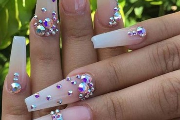 Beautiful Long Nail Art Designs for Women 2019