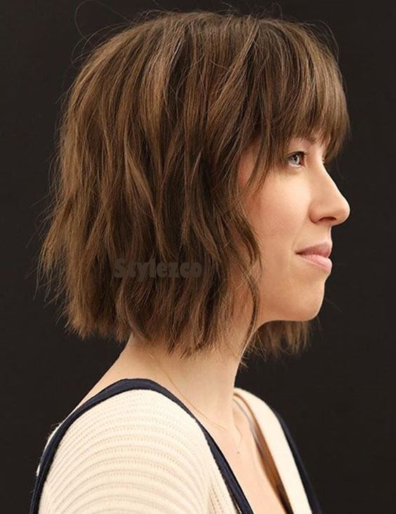 Prettiest Short Haircuts With Brown Shades For Girls Stylezco