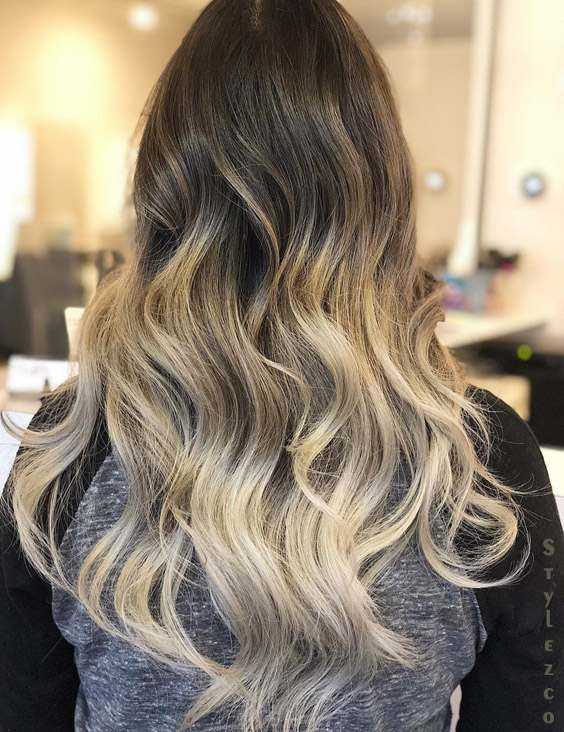 Soft Blends Balayage Hair Color Highlights For 2019 Stylezco