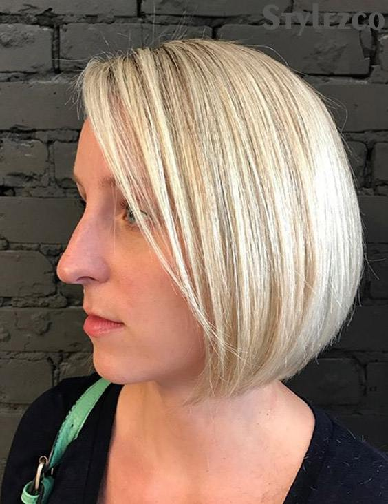 Wonderful Short & Sleek Bob Haircut Trends for 2019