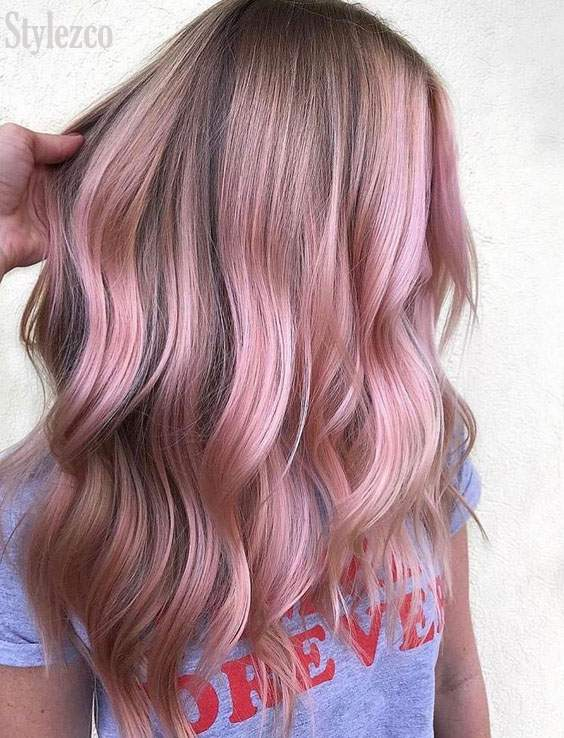Fresh Ways to Wear Pink Hair Color Ideas In 2019