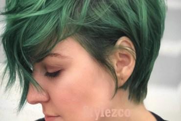 Wonderful Green 2019 Short Haircuts & Hairstyle Ideas