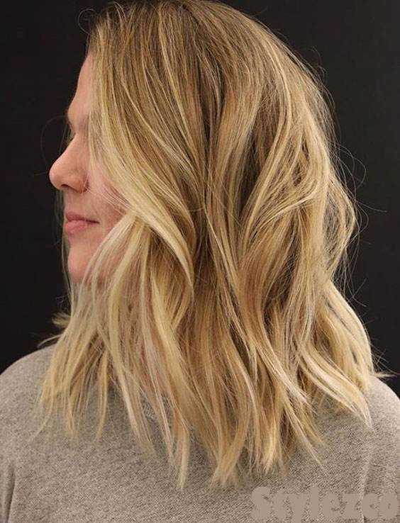 Wonderful Look of Medium Hairstyle & Cuts for Young Girls